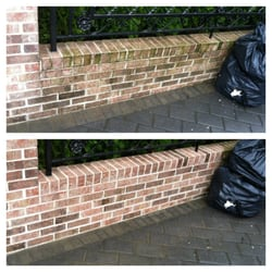 exterior brick cleaning solutions. photo of eco clean exterior cleaning solutions - brooklyn, ny, united states. brick