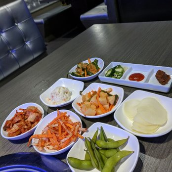 Photo Of Gin Korean Bbq Metairie La United States Banchan
