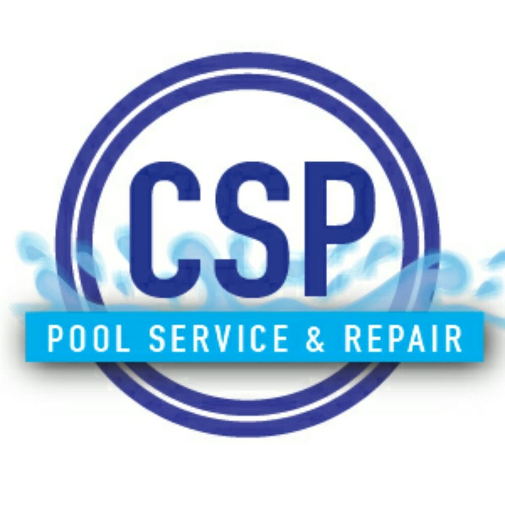 Pool Repair Service : Company logo we have water in our how typical of