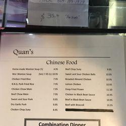 Quan\'s Kitchen - Chinese - 22363 Lougheed Highway, Maple Ridge, BC ...