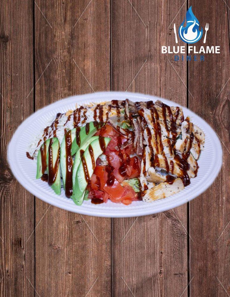 Blue Flame Diner: 1255 O St, Firebaugh, CA