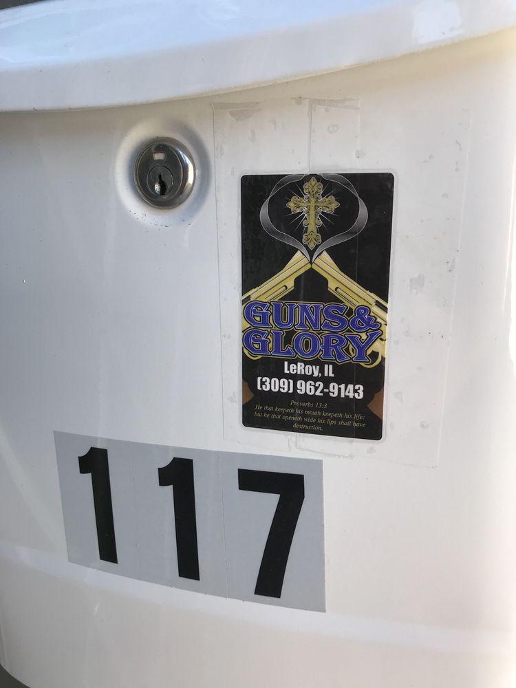 Guns & Glory: 117 E Center St, Le Roy, IL