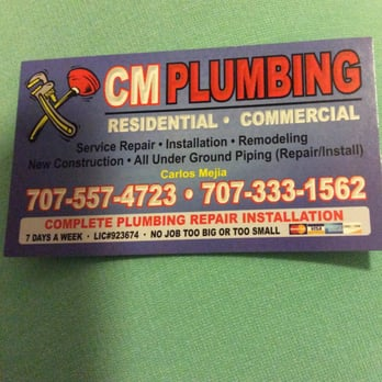 Bathroom Remodel Vallejo Ca cm plumbing - 17 reviews - plumbing - vallejo, ca - phone number
