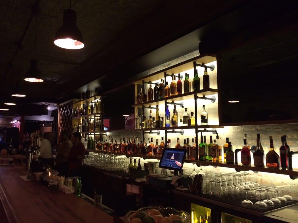 photos for the brixton yelp back bar lighting