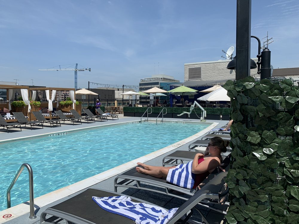 Rooftop Pool and Bar: 415 New Jersey Ave NW, Washington, DC, DC