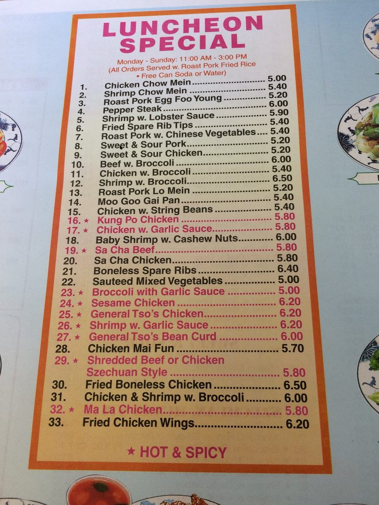 New China Dragon Kitchen Restaurant