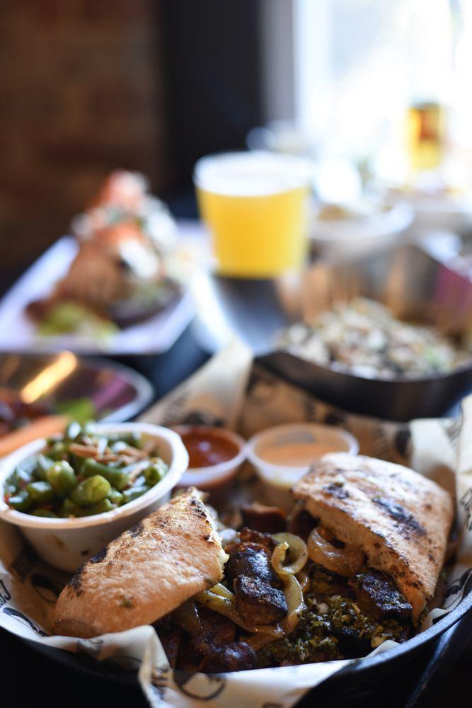 Food from Coaltrane's Char Grill