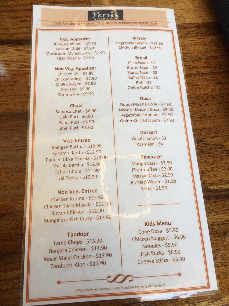 Veg Indian Restaurants Near Cary Nc