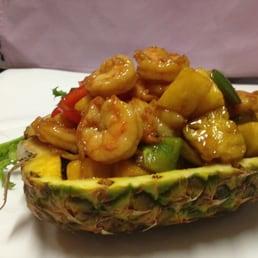 Sakana Japanese Restaurant - Nanuet, NY, United States. Hawaiian Shrimp Entree