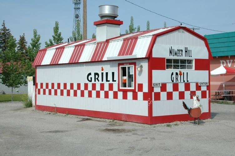 Number Hill Grill: 238 S Front St, Arco, ID