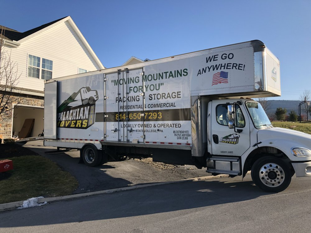 Appalachian Movers LLC: 419 Outer Dr, State College, PA