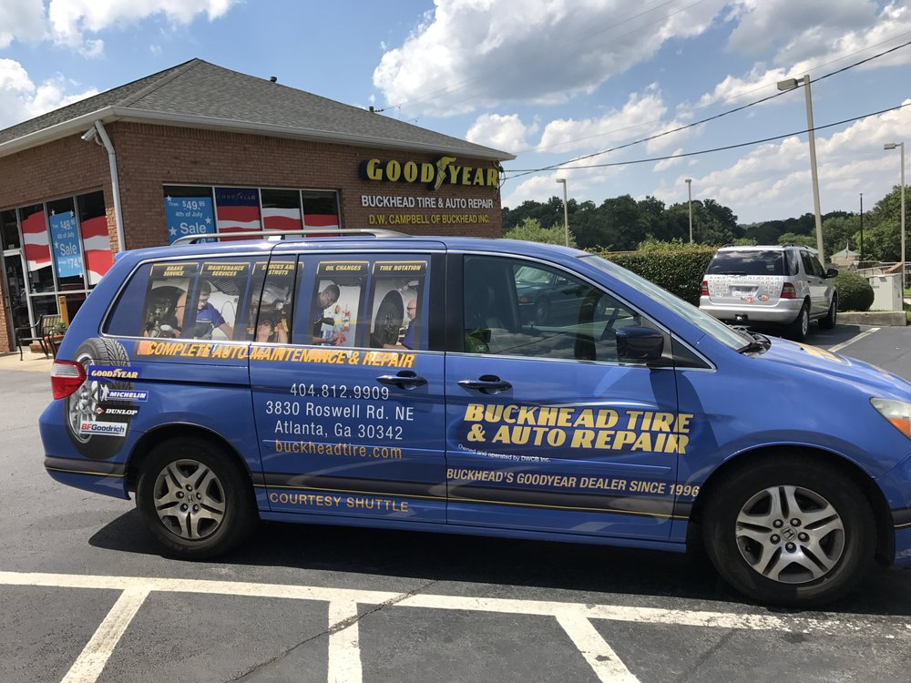 Buckhead Tire & Auto Repair: 3830 Roswell Rd NE, Atlanta, GA