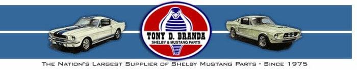 Tony D. Branda Shelby & Mustang Parts: 1434 E Pleasant Valley Blvd, Altoona, PA