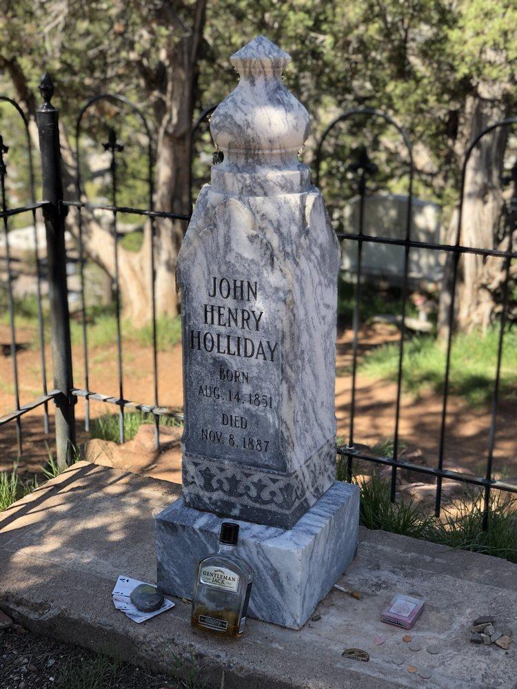 Doc Holiday's Grave Site & Memorial: Bennett Ave, Glenwood Springs, CO