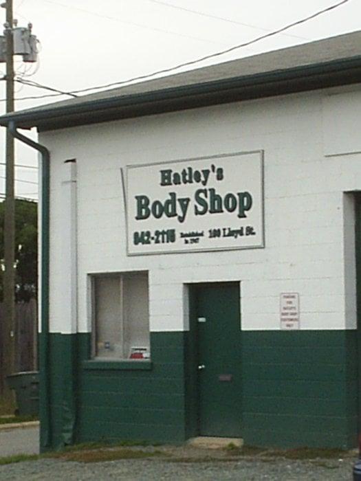 Hatley's Body Shop: 100 Lloyd St, Carrboro, NC