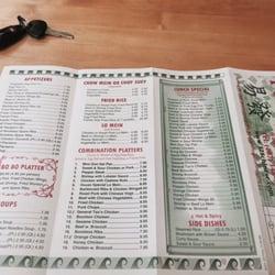 Photo Of 128 Chinese Restaurant Kissimmee Fl United States Menu