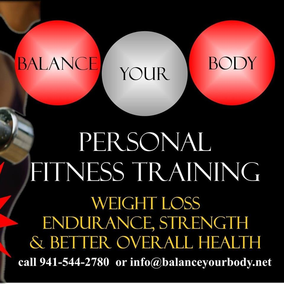 Balance Your Body Personal Training Services Gift Card Sarasota
