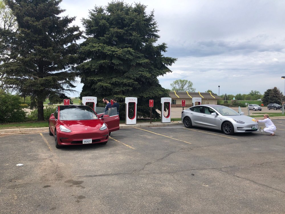 Tesla Supercharger: 811 E Plaza St, Albert Lea, MN