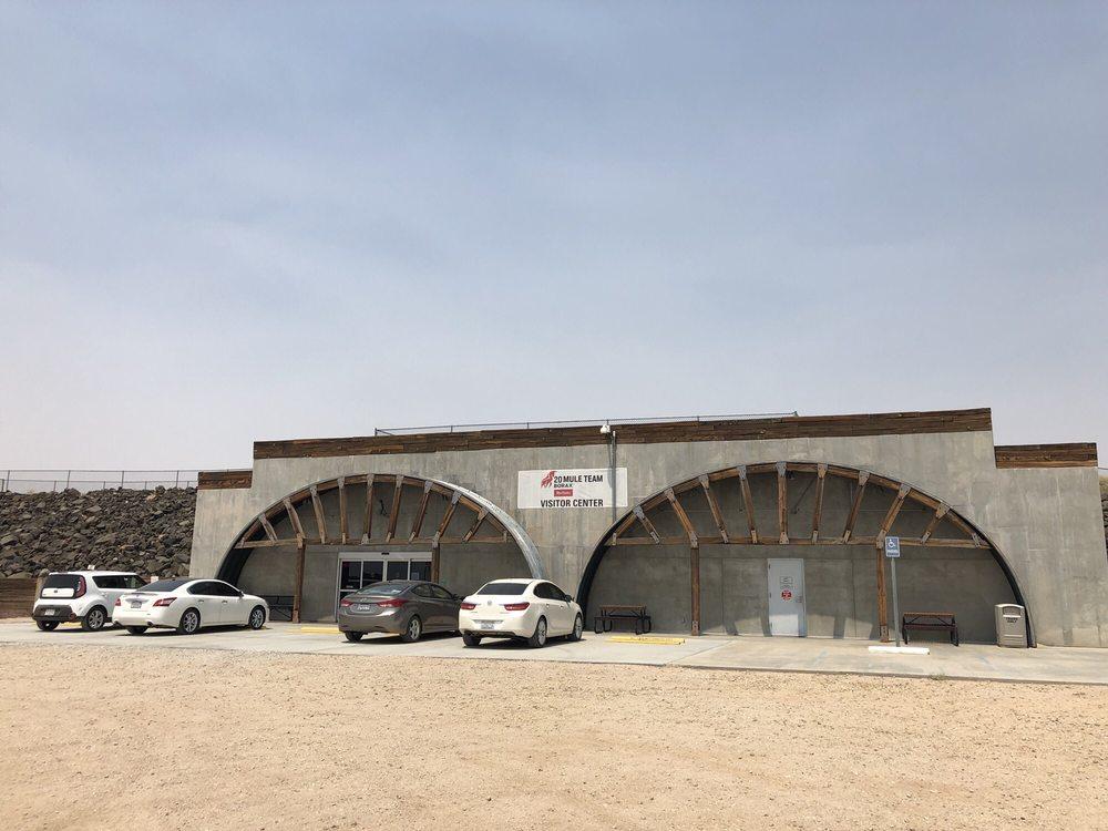 Borax Visitor Center: 14486 Borax Rd, Boron, CA