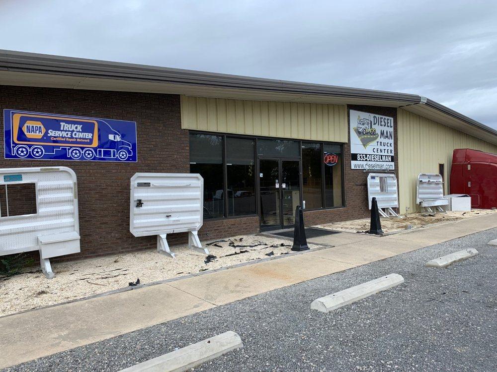 Diesel Man Truck Center: 587 Hwy 38 S, Bennettsville, SC