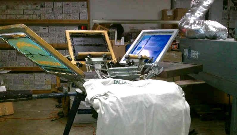 Apparel junction screen printing t shirt