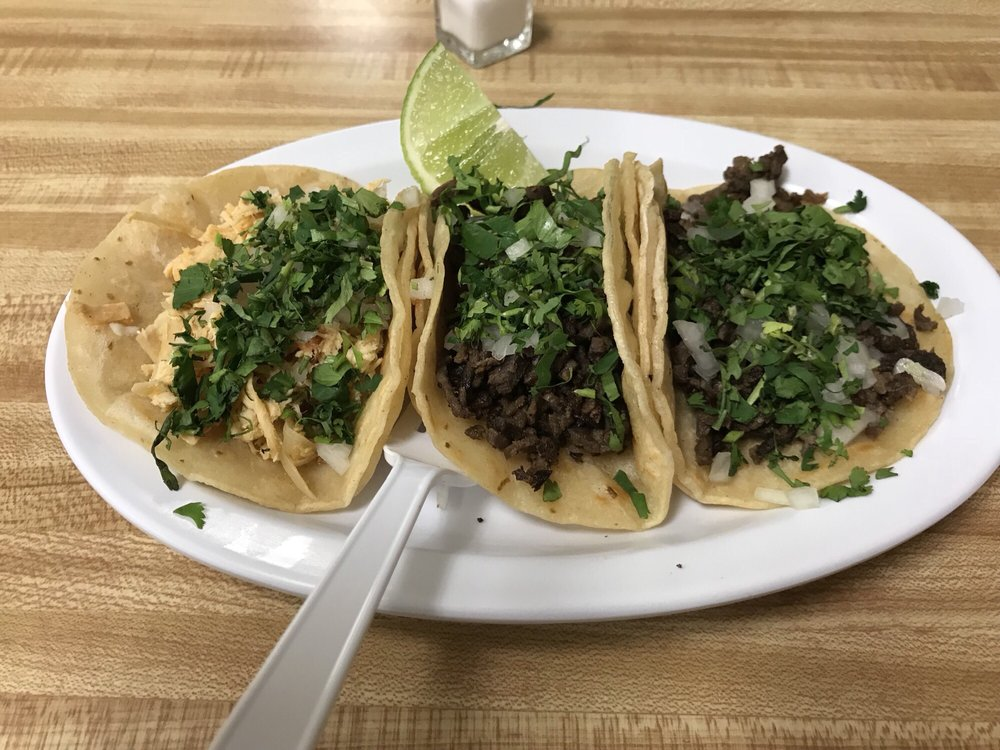 Food from Super Taco