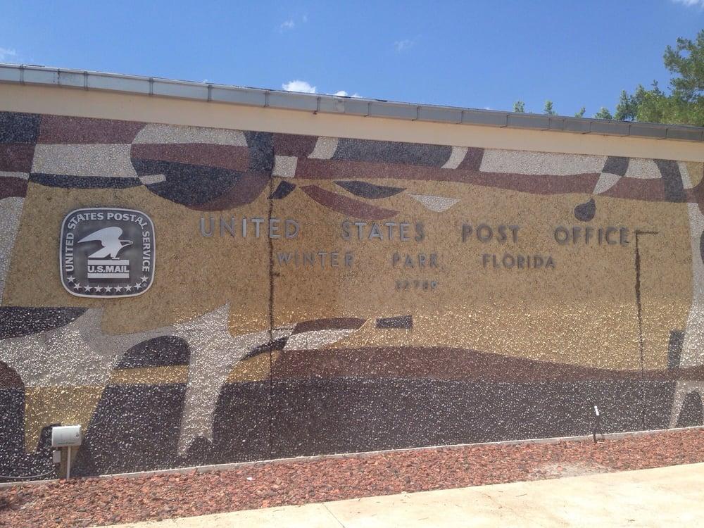 US Post Office: 300 N New York Ave, Winter Park, FL