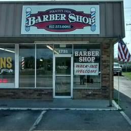 Pirates Den Barber Shop Barbers 1731 E Hwy 377
