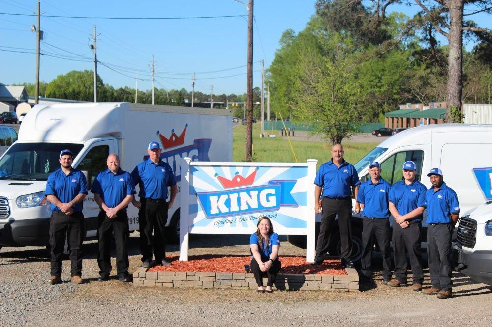 King Heating & Air Conditioning: 300 Wilson Rd, Sanford, NC