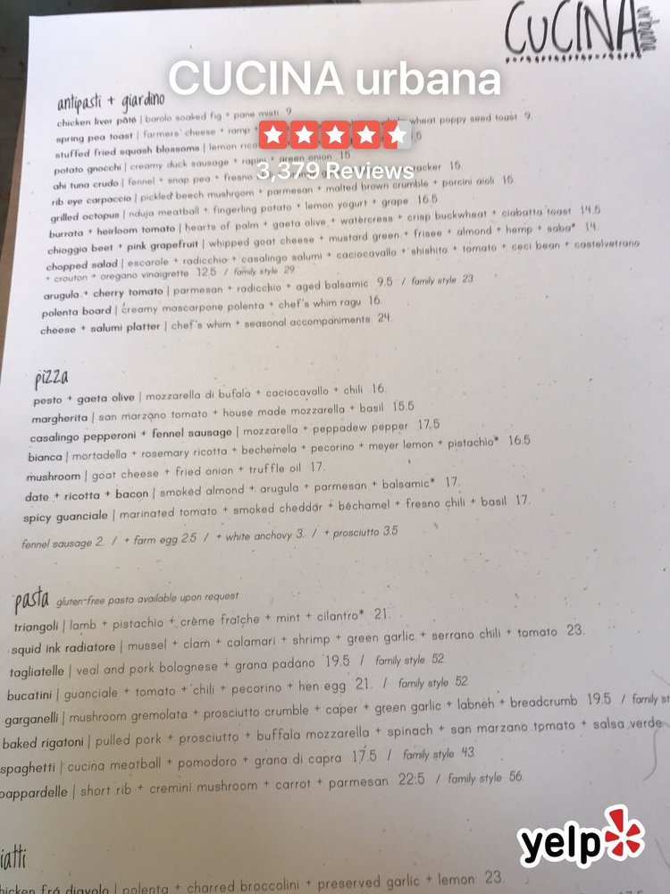 Awesome Menu Yelp