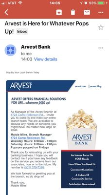 Arvest Bank 4724 Camp Robinson Rd North Little Rock, AR Banks - MapQuest
