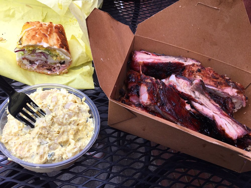 Food from Roxie Deli and Barbeque - East Sac & Downtown