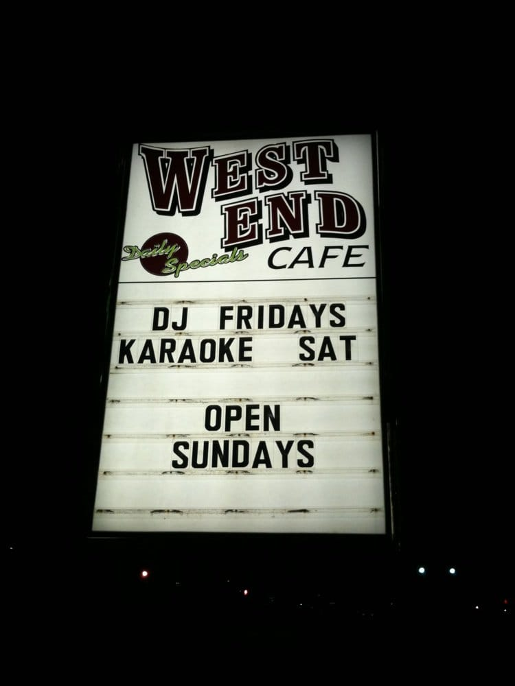 West End Cafe: 1590 Ritner Hwy, Carlisle, PA