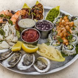Photo Of Moshulu Philadelphia Pa United States Seafood Plateau