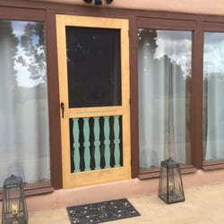 Awesome Double Entry Screen Doors