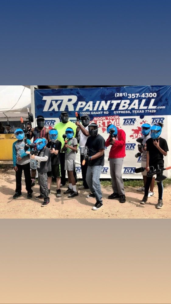 TXR Paintball: 15550 Grant Rd, Cypress, TX