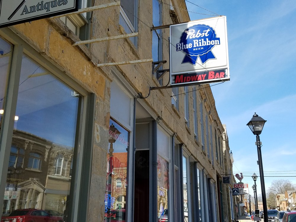 Midway Bar: 140 High St, Mineral Point, WI