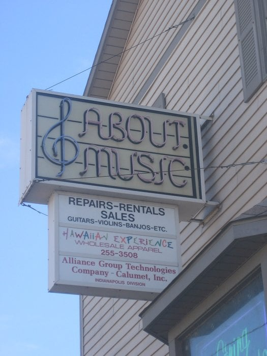 About Music: 6346 N College Ave, Indianapolis, IN