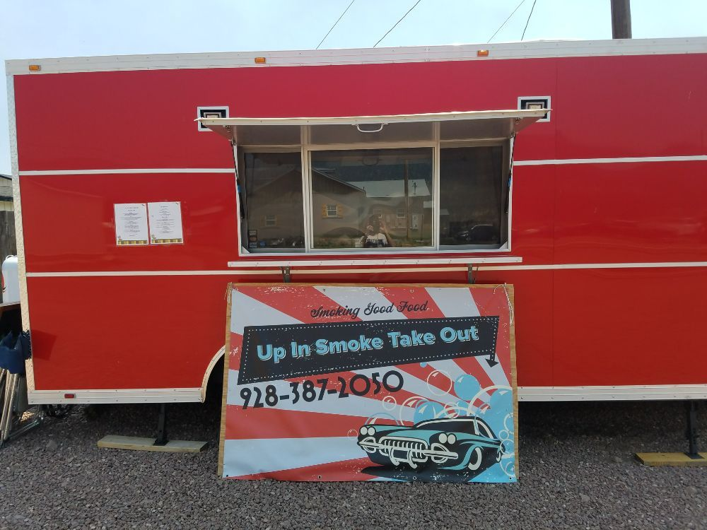 Up In Smoke Take Out: 42640 US 180/191, Alpine, AZ