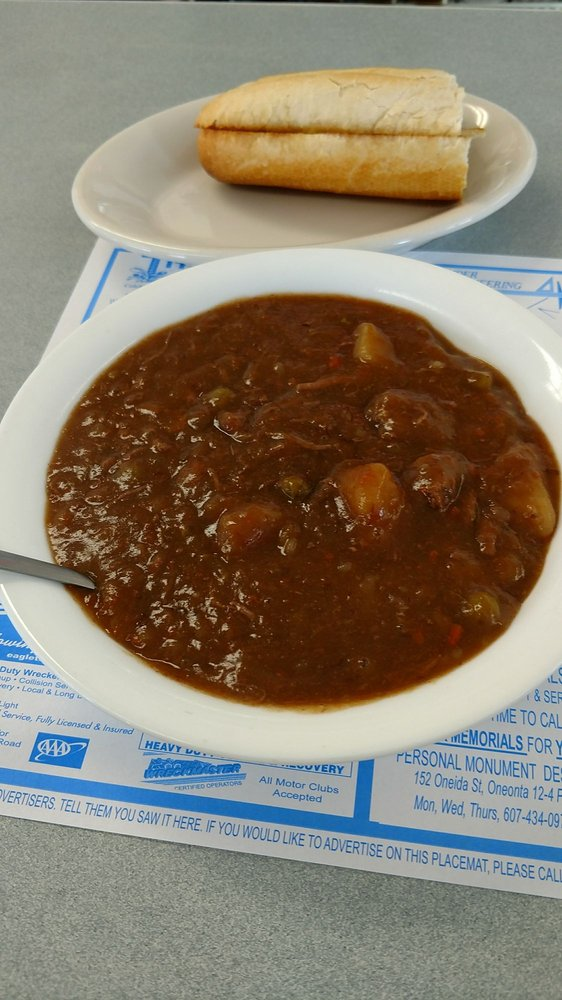 TK's Diner: 11308 State Hwy 23, Davenport, NY