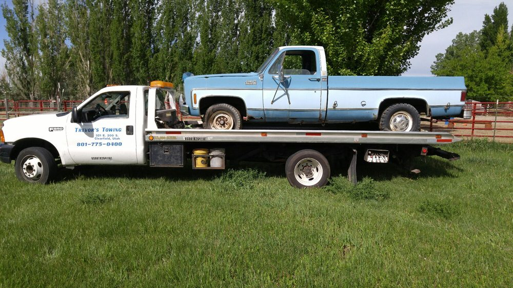 Trevor's Towing: 321 E 200th S, Clearfield, UT