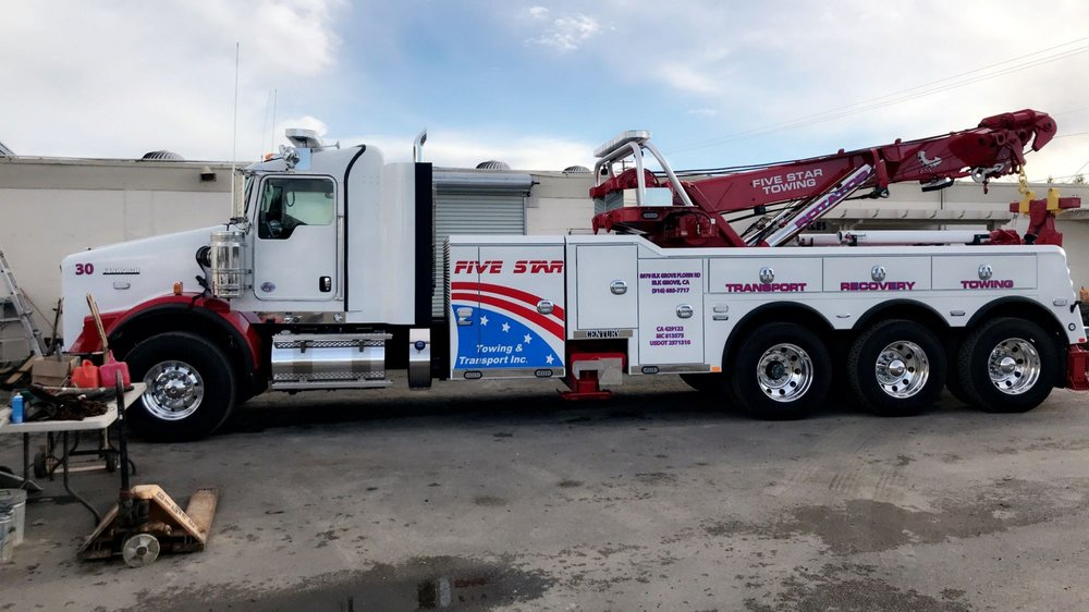 Five Star Towing - 10 Photos - Towing - 4600 Power Inn Rd ...