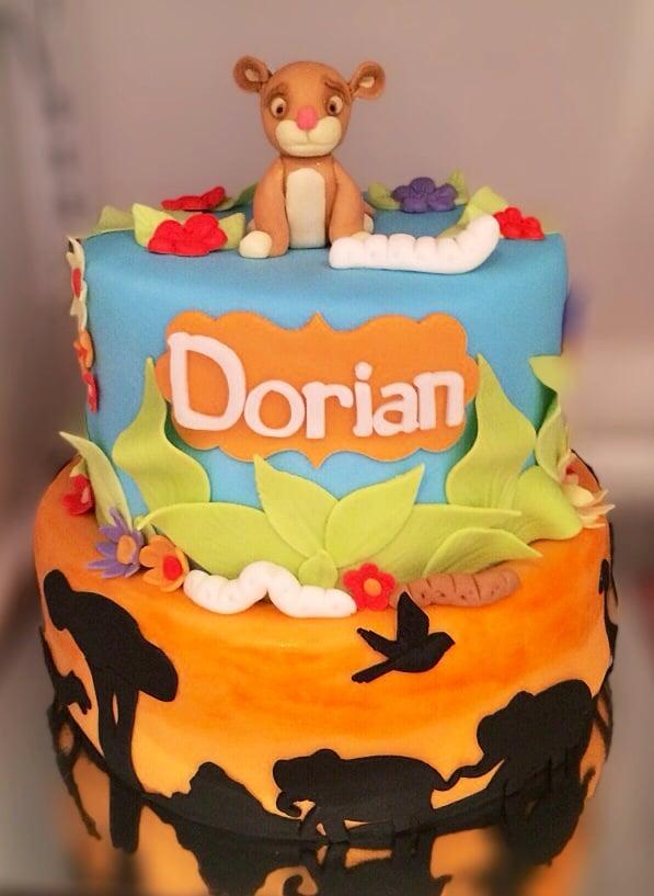 Lion King Baby Shower Cake Yelp