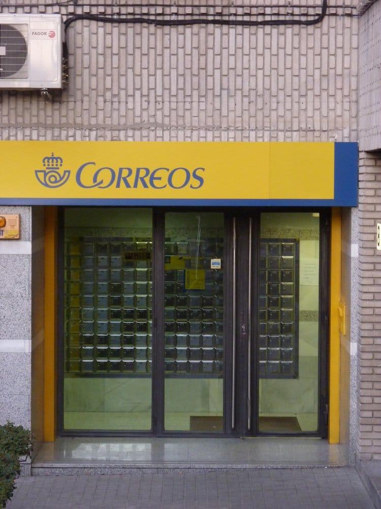 Correos oficinas de correos calle carlina 8 latina for Telefono oficina de correos
