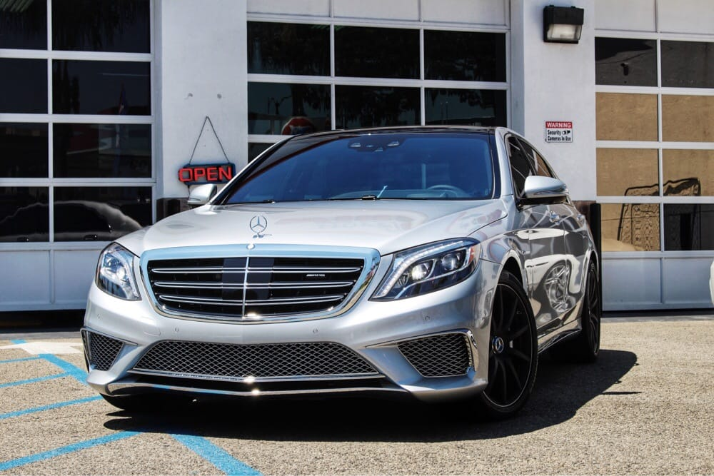 2015 mercedes benz s65 amg completely tinted in spectra for Mercedes benz window tint
