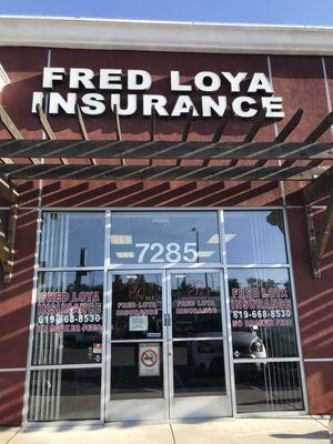 Fred Loya Insurance 7285 Broadway Lemon Grove Ca Unknown Mapquest