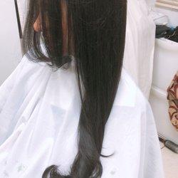Caramel Copper Balayage Ombre Hair Colour Color