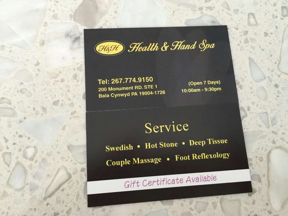 Health Hand Spa Offers A Wide Range Of Massage Therapy Services
