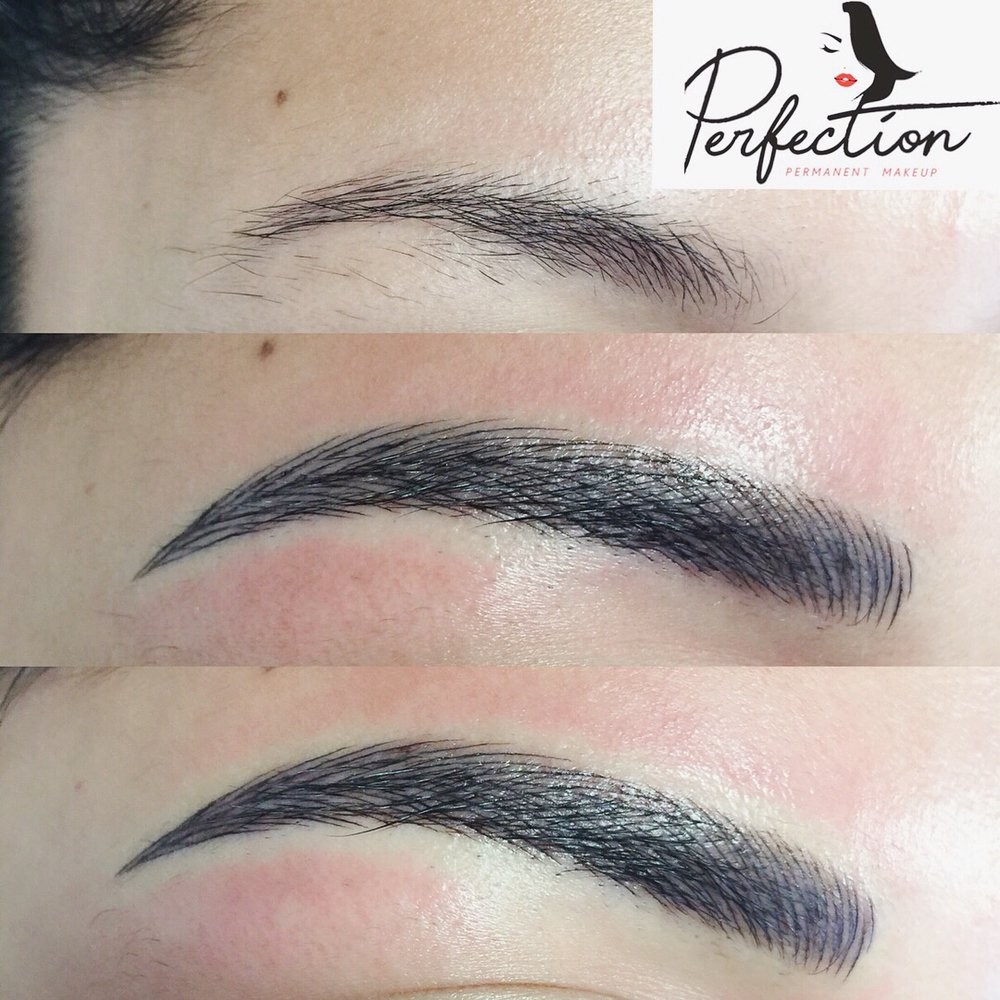 Happy Weekend Starts With Perfect Eyebrows 4d Combo Before And