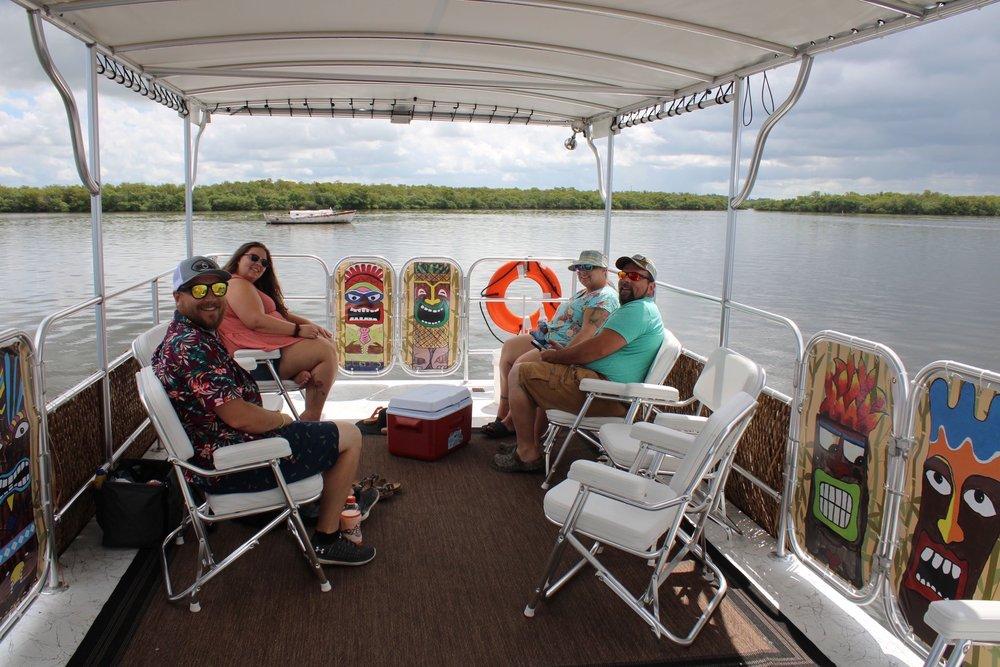 Captain Jack Tiki Boat Tours: 3930 Pine Island Rd NW, Bokeelia, FL